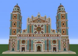 Baroque Cathedral - Cattedrale Barocca Minecraft Project