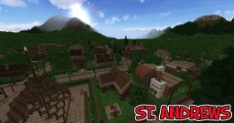 St. Andrews - A small cozy town Minecraft Map & Project