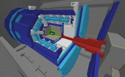 ATLAScraft - CERN, the Large Hadron Collider & The ATLAS experiment Minecraft Project