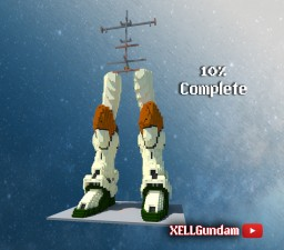 Gundam: GAT-X103 Buster (10%) Minecraft Map & Project