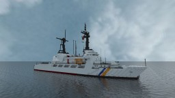 Vietnam Coast Guard CSB - 8020 (hamilton class) Minecraft Map & Project