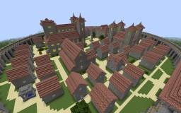 City and Kaer Morhen Minecraft Project