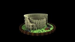 Roman Coliseum Minecraft Project