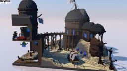 [Plot] Desert Fortress | by Hayden309 Minecraft Map & Project