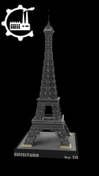 Eiffel Tower Minecraft Map & Project