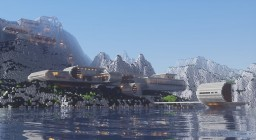 Swiss Mountain Luxury Lakeside Ski Resort Download Minecraft Map & Project