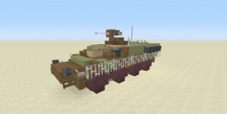2:1 Scale M1126 Stryker ICV Minecraft Project