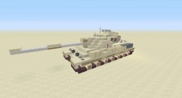 2:1 Scale FV 214 Conqueror Heavy Tank Minecraft Project