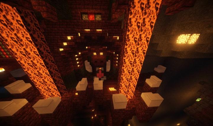 Fire Diety In Black Rock Castle