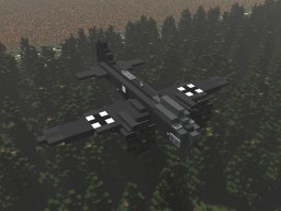 Junkers Ju-88 Minecraft Map & Project