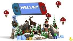 Winter Games Hub Minecraft Project