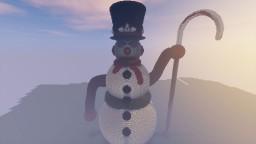 Mega Snowman Minecraft Map & Project