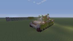 West German Bundeswehr Leopard 1A3 main battle tank Minecraft Project
