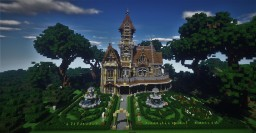Victorian Mansion #1: Goldeneye Minecraft Map & Project