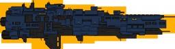 [ORIGINAL STARSHIP] : Nocturne class frigate Minecraft