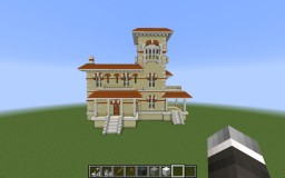 Realistic Italian Villa Minecraft Map & Project