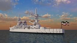 Fictional German Pre-Dreadnought - Der Hauptmann von Köpenick - For ConfuseACat Minecraft Project
