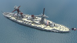 Bretagne Class Battleship - For Anchor_Yuki Minecraft Map & Project