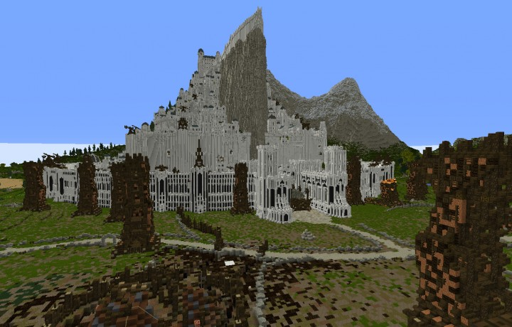 Siege of Minas Tirith - Defend the town agains the black army of Mordor in pvp