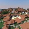Резиденция в горах - Residence in the mountains. Minecraft Project