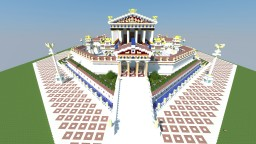 Roman Temple of Jupiter -Contest Entry Minecraft Map & Project
