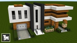 Minecraft: How To Build a Modern House / Mansion Easy (Episode 7) 2017 Minecraft Project