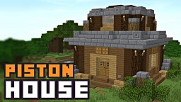 Mumbo Jumbo ONE CHUNK PISTON HOUSE! Minecraft Blog Post