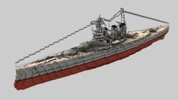 British Battlecruiser HMS Tiger 1:1 Minecraft Project
