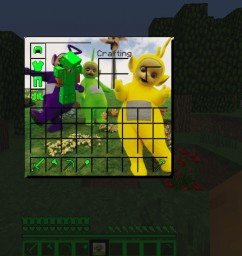 Teletubby texture pack Minecraft Texture Pack