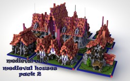 Medieval Buildings Bundle Minecraft Map & Project