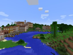 Brazilian Colonial-Neoclassical City Minecraft Map & Project