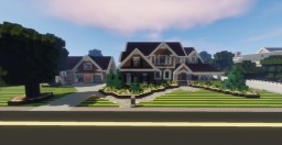 Suburban/Traditional style houses (Ft. Colfetters) - How to Build #2 Minecraft Blog Post