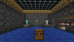 Diamond Find the Button Map Minecraft Project