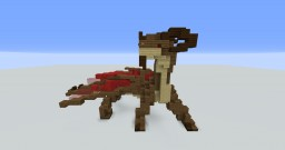 Small Desert Dragon Minecraft Map & Project