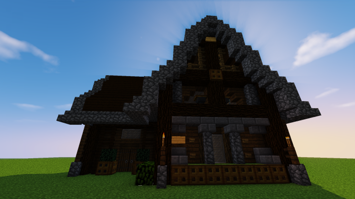 Medium sized Meval House -Schematic- Minecraft Project on