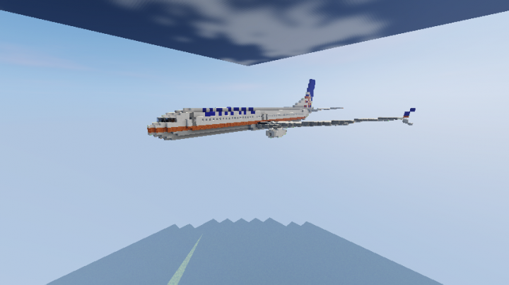 737 in the air