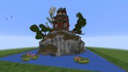 Asana's Oriental Temple Minecraft Map & Project
