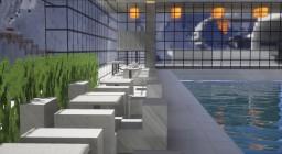 Swiss Mountain Luxury Lakeside Ski Resort Minecraft Project