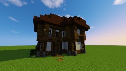 Medieval Tudor House1 -Schematic- Minecraft Map & Project