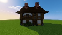 Medieval Tudor House2 -Schematic- Minecraft Map & Project
