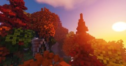 Fall forest plot Minecraft Map & Project