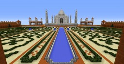 Indian style temple complex ( inspired by the Taj Mahal ) Minecraft Map & Project