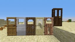 Door top retextures. Minecraft Texture Pack