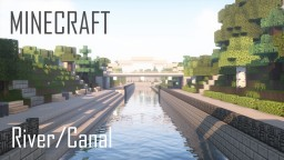 Modern City River/Canal Minecraft