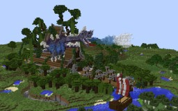 The Journey to Temple Mother Earth Minecraft Project