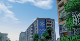 Tehnogorsk - Russian New Year's city Minecraft Project