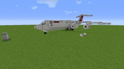 Avro RJ100/BAe 146-300 Minecraft Map & Project