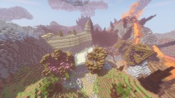 The temple of the Mad God Minecraft Project