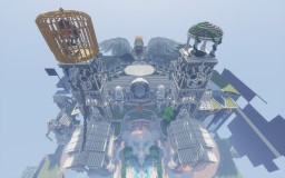 Fantasy Castle [145x145 plot] Minecraft