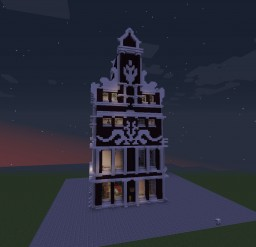 Victorian house model 1 Minecraft Project